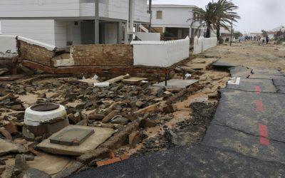 Agilizan la tramitación para evaluar daños por el temporal en Huelva